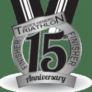 2017 Jack's Generic Triathlon Finisher Basno badge.