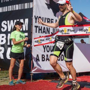 finish line volunteer jack's generic triathlon austin texas