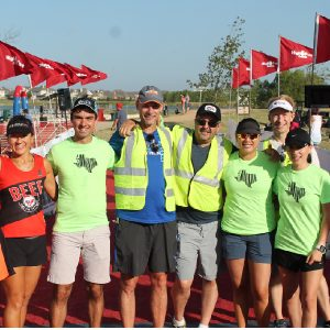 volunteer at jack's generic triathlon austin, texas