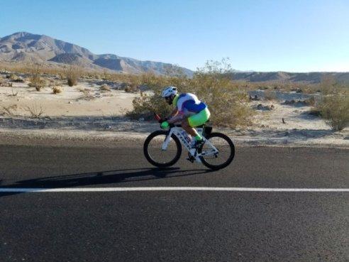 Andrew Willis is the bike leg for JGT's Sweet 16.