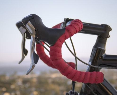 Bike with new handlebar tape